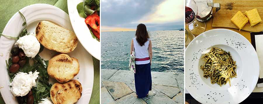 sitios bonitos viajes italia croacia eslovenia, gastronomía